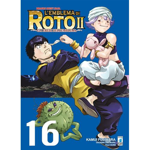 DRAGON QUEST-EMBLEMA DI ROTO II N.16